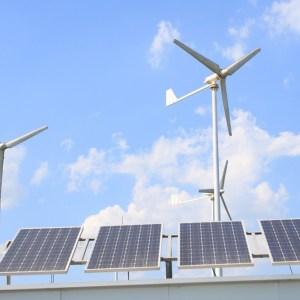Rooftop Wind-Solar Hybrid System image
