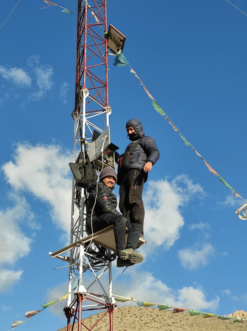 Wind Met Mast Installation for Resource Measurement – 2017 image