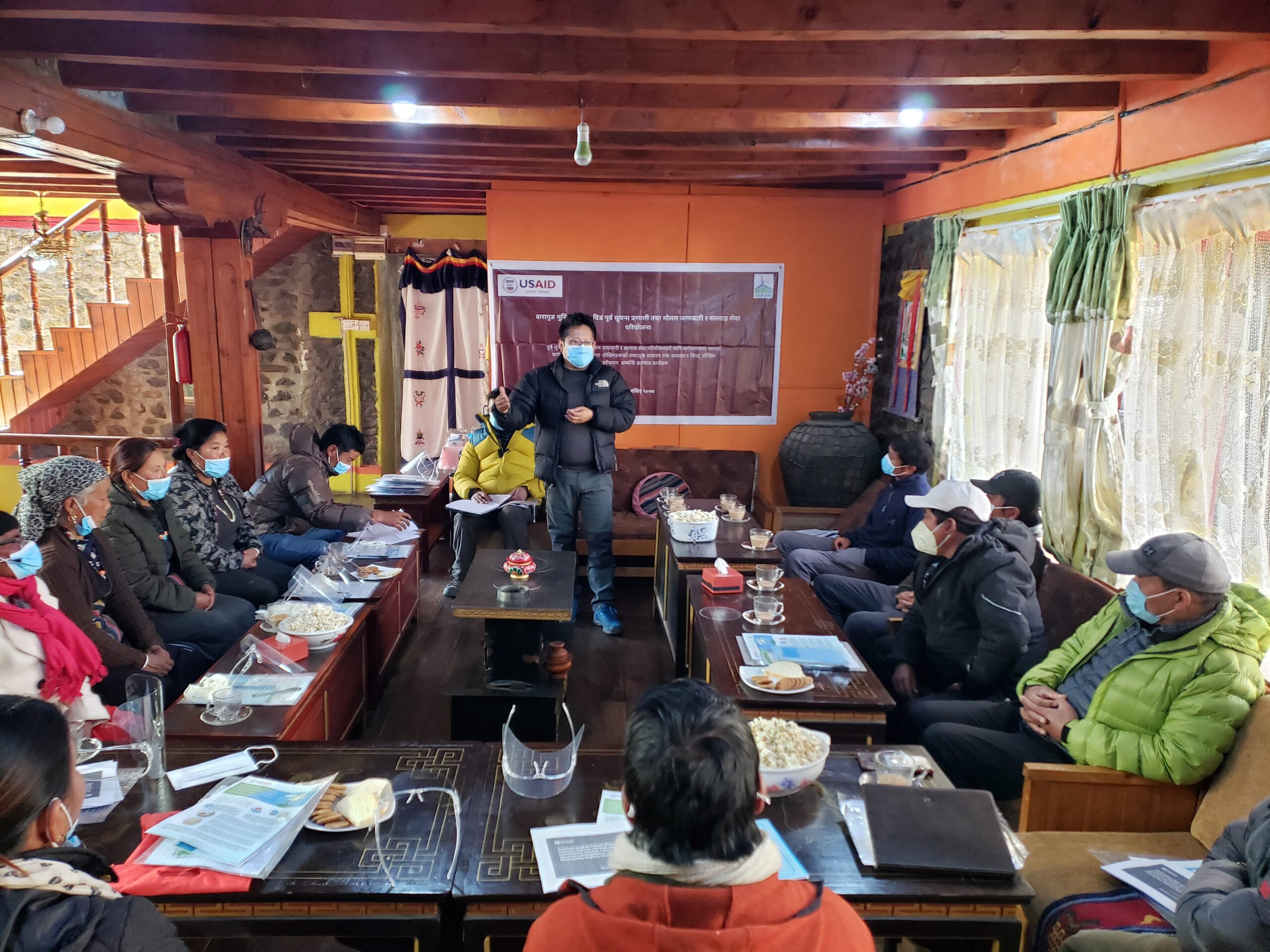 Developing Early Warning System (EWS) Mechanism to Enhance Response Strategy Against Climate Induced Disasters and Extreme Weather Events and to Build Resilience of the Local Communities in Mustang – 2020/21 image